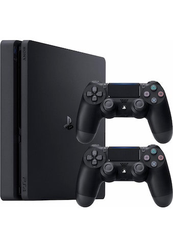 PlayStation 4 Konsolen-Set »Slim«, (Bundle, inkl. 2 PlayStation 4 Wireless DualShock... kaufen