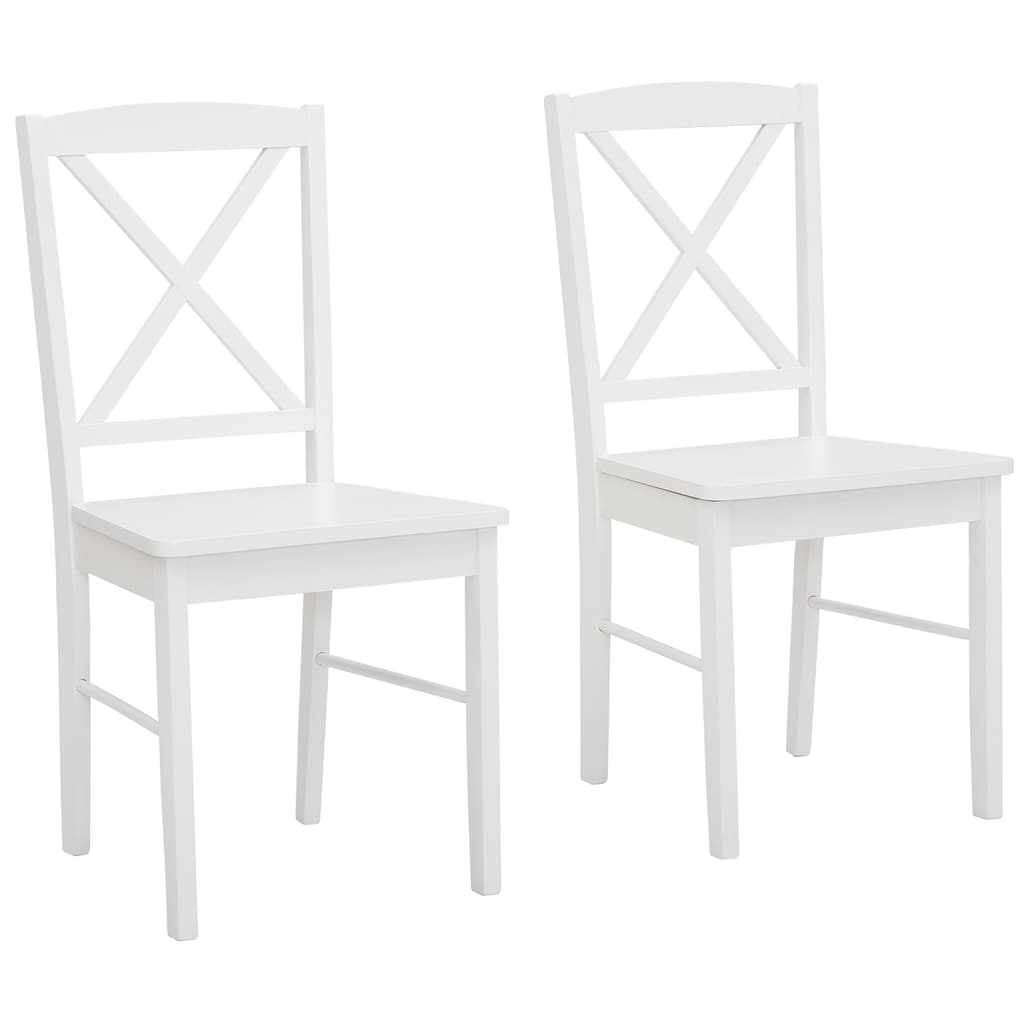Home affaire Esszimmerstuhl »Sonoma«, 2er Set, aus massivem Kiefernholzgestell, angenehmer Sitzkomfort, Sitzhöhe 47 cm