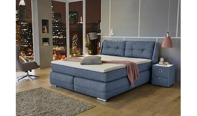 Jockenhöfer Gruppe Boxspringbett, mit Bettkasten, Kaltschaum-Topper und wandelbar zur Überlänge kaufen
