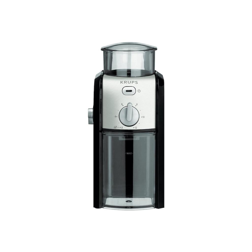 Krups Kaffeemühle »GVX242«, 110 W, Schlagmahlwerk, 200 g Bohnenbehälter