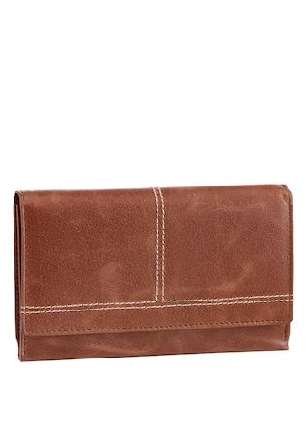 H.I.S Geldbörse, aus Leder, mit praktischer Einteilung kaufen