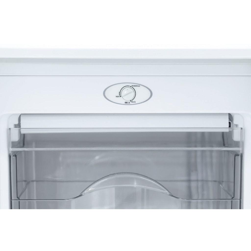 exquisit Gefrierschrank »GS111-040F weiss«, 85 cm hoch, 48 cm breit