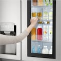 LG Side-by-Side »GSX961NEAZ«, GSX961NEAZ, 179 cm hoch, 91,2 cm breit, InstaView Door-in-Door™