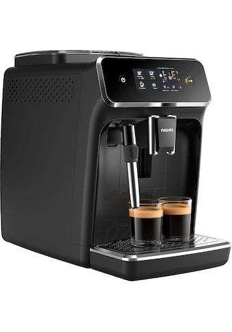 Philips Kaffeevollautomat »2200 Serie EP2221/40 Pannarello, klavierlackschwarz« kaufen