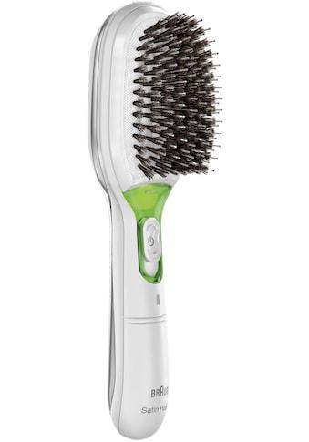 Braun Haarglättbürste »Satin Hair 7 IONTEC BR750«, Ionen-Technologie, mit natürlichen... kaufen
