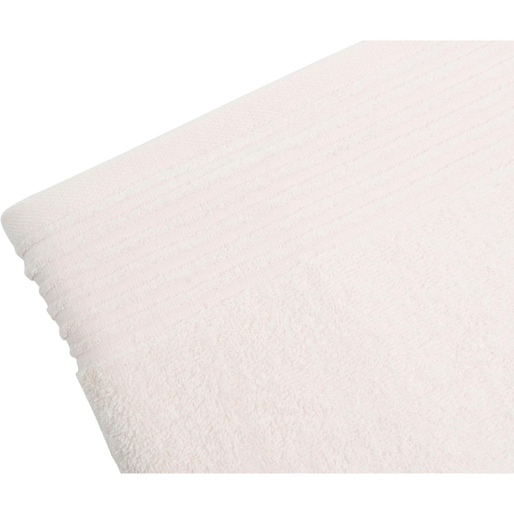 Gözze Handtücher »Hanna«, (2 St.), mit strukturierter Bordüre