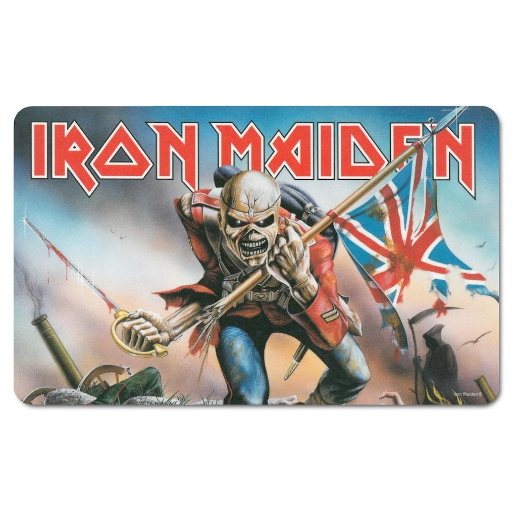 LOGOSHIRT Frühstücksbrettchen mit Iron Maiden Motiv