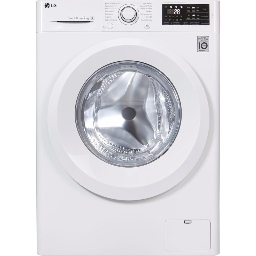 LG Waschmaschine Serie 3 F14WM7LN0