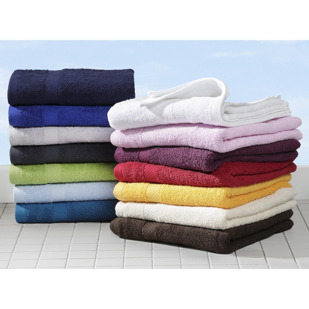 Dyckhoff Handtuch Set »Planet«, aus reiner Bio-Baumwolle