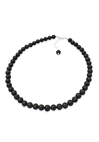 Elli Collierkettchen »Lava Perlen 925 Sterling Silber« kaufen