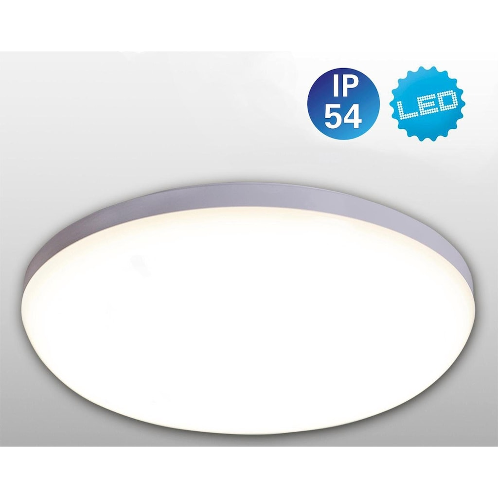 näve LED Deckenleuchte »Garda«, LED-Board, Neutralweiß, LED Deckenlampe
