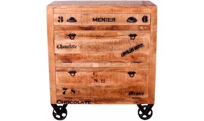 SIT Schuhschrank »Rustic«, im Factory Design, Breite 82 cm, Shabby Chic, Vintage kaufen