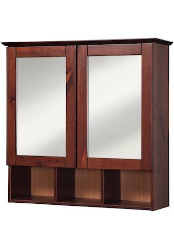 welltime Spiegelschrank »Landhaus Sylt«, Breite 60 cm, aus Massivholz kaufen