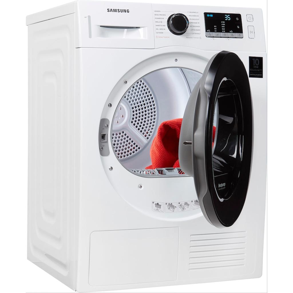 Samsung Wärmepumpentrockner »DV81TA220AE/EG«, 8 kg, Knitterschutz