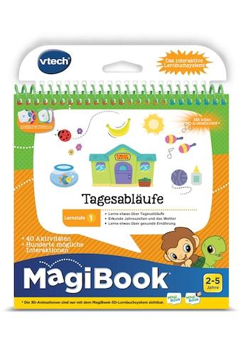 Vtech® Buch »MagiBook Lernstufe 1 -Tagesabläufe« kaufen