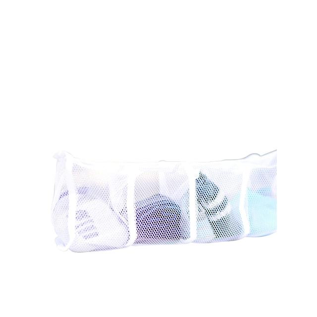 Wäschenetze mit vier Fächern