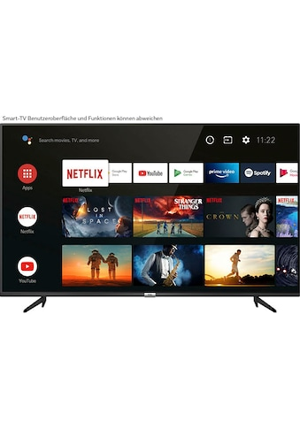"""TCL LED-Fernseher »55P616X1«, 139 cm/55 """", 4K Ultra HD, Smart-TV, Android 9.0... kaufen"""