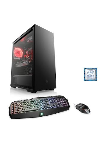 CSL Gaming PC   Core i7 - 9700KF   GeForce RTX 2070S   32GB DDR4   SSD »HydroX T9003 Wasserkühlung« kaufen