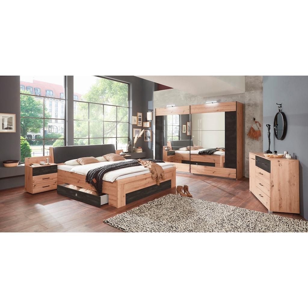 Wimex Bettanlage »Bristol«, mit Bettschubkästen und wahlweise mit Bettkasten im Kopfteil