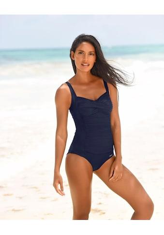 LASCANA Badeanzug, mit Raffungen vorn kaufen