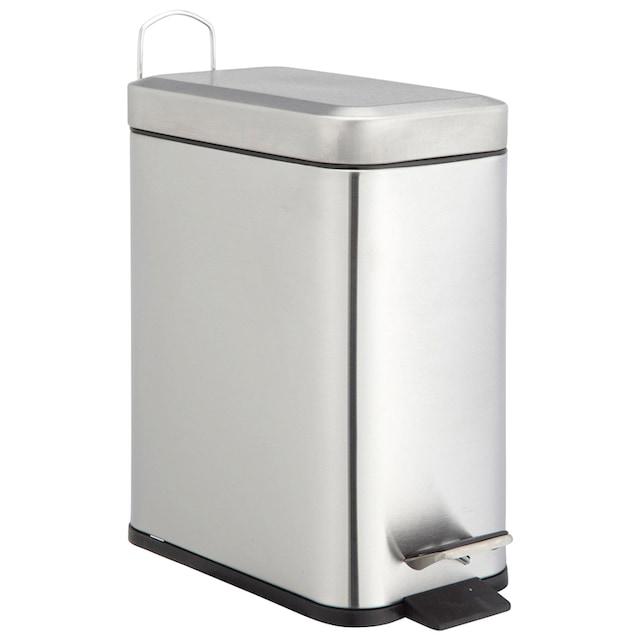 ADOB Kosmetikeimer »Abfallbehälter«, 5 L Edelstahl satiniert mit herausnehmbarem Inneneimer