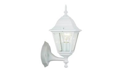 Brilliant Leuchten Newport Außenwandleuchte stehend weiß kaufen