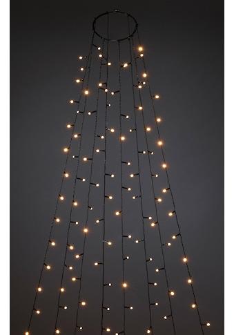 KONSTSMIDE LED-Lichterkette »Baummantel mit Ring und 8 Strängen« kaufen