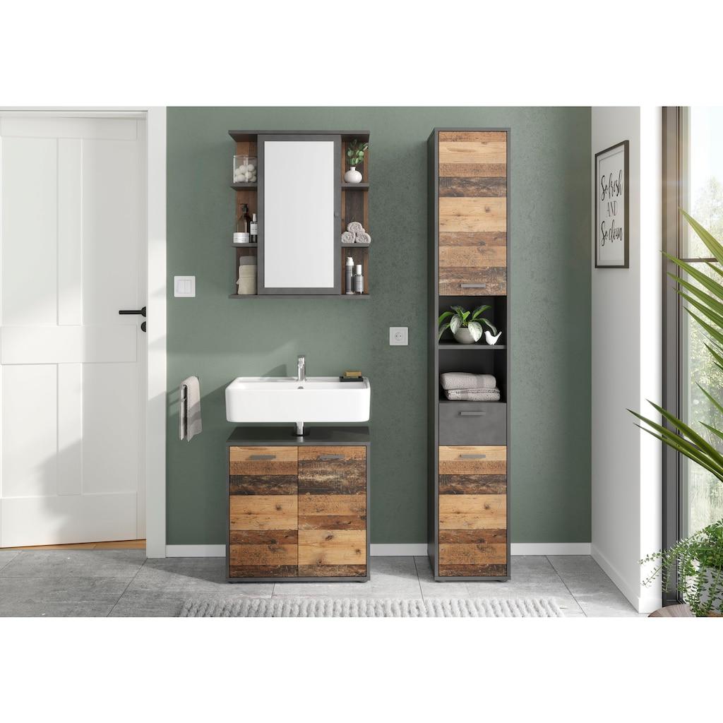 FMD Waschbeckenunterschrank »Madoc«, mit 2 Türen