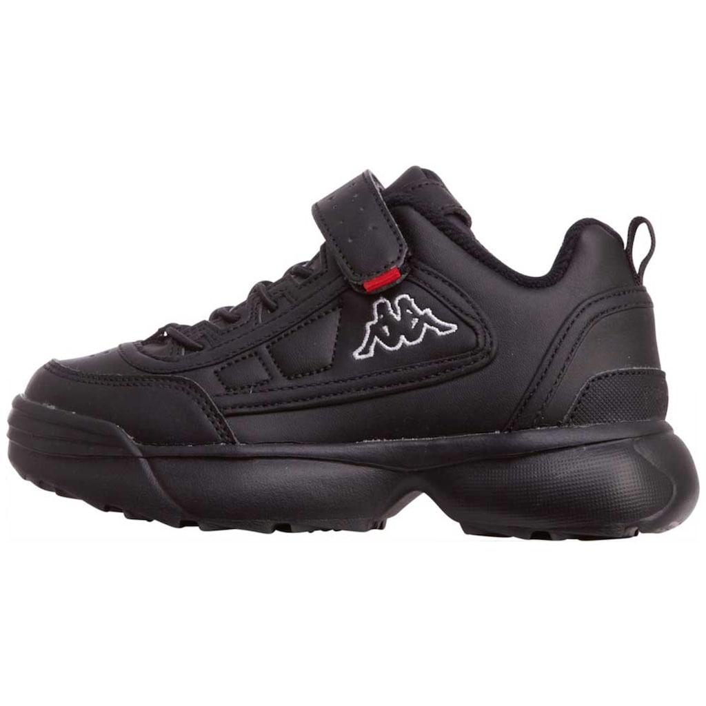 Kappa Sneaker »RAVE NC KIDS«, in angesagtem 90er Jahre Look