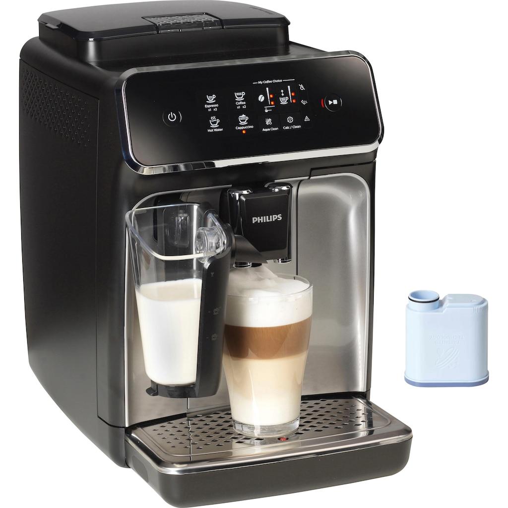 Philips Kaffeevollautomat 2200 Serie EP2236/40 LatteGo, 1,8l Tank, Scheibenmahlwerk