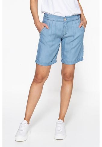 ATT Jeans Shorts »Freya«, mit Sandwash-Effekt kaufen