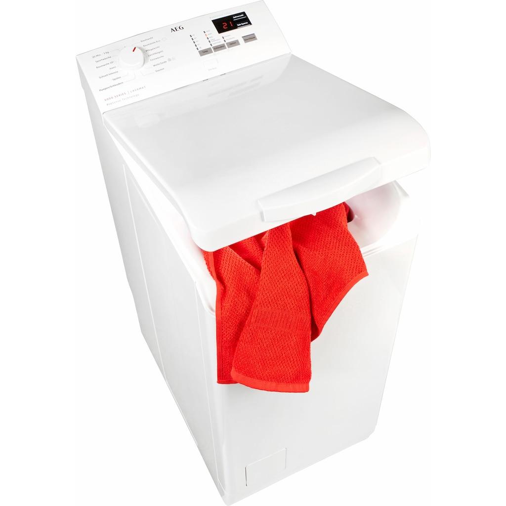 AEG Waschmaschine Toplader »L6TB41270«, 6000, L6TB41270, 7 kg, 1200 U/min, Nachlegefunktion