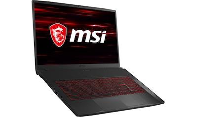 """MSI Gaming-Notebook »GF75 10SDR-420 Thin«, (43,9 cm/17,3 """" Intel Core i7 GeForce® GTX 1660Ti\r\n 1000 GB HDD 256 GB SSD) kaufen"""