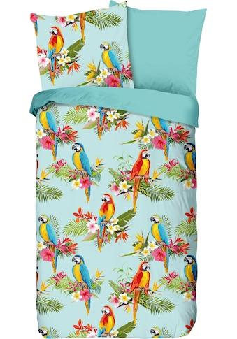 good morning Kinderbettwäsche »Parrot«, mit Papageien kaufen