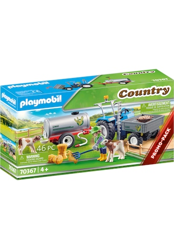 "Playmobil® Konstruktions - Spielset ""Ladetraktor mit Wassertank (70367), Country"", Kunststoff kaufen"