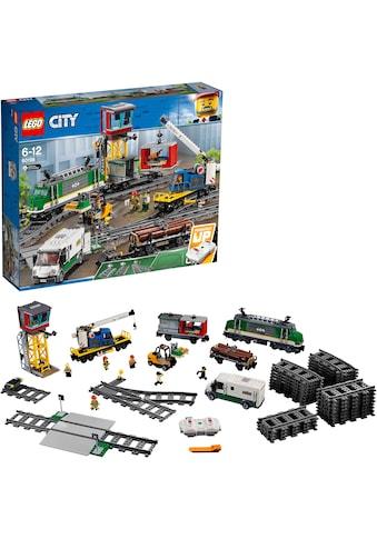 """LEGO® Konstruktionsspielsteine """"Güterzug (60198), LEGO® City"""", Kunststoff, (1226 - tlg.) kaufen"""