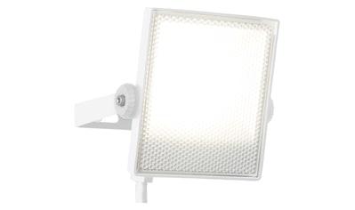Brilliant Leuchten Dryden LED Außenwandstrahler 13cm weiß kaufen