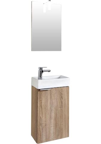 Homexperts Badmöbel-Set »Gizo«, (Set, 2 tlg.), mit LED-Beleuchtung, für Gäste-WC geeignet kaufen