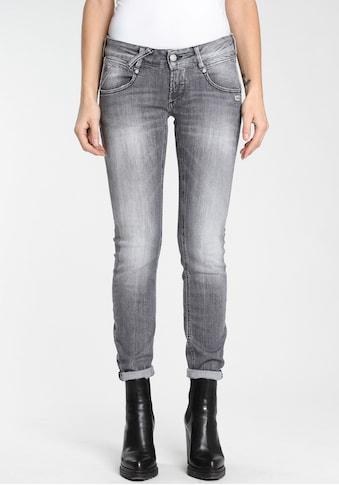 """GANG Skinny-fit-Jeans »""""NENA-CROPPED""""«, authentische Waschung mit Usedeffekten kaufen"""