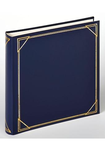 Walther Fotoalbum »Classicalbum Standard, blau, 30x30 cm« kaufen