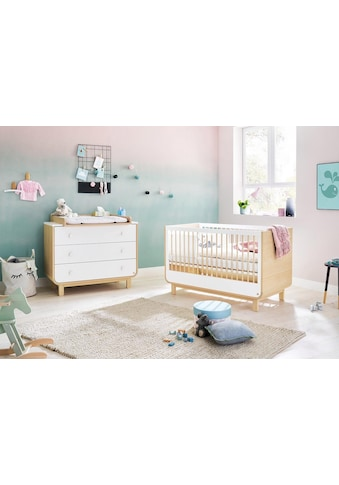 Pinolino® Babymöbel-Set »Round«, (Spar-Set, 2 St.), breit; Made in Europe; mit... kaufen