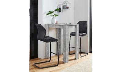 Homexperts Bargruppe »Nika-Indira«, Tisch mit 2 Barhockern kaufen