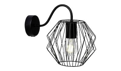 Brilliant Leuchten Noris Wandleuchte schwarz kaufen