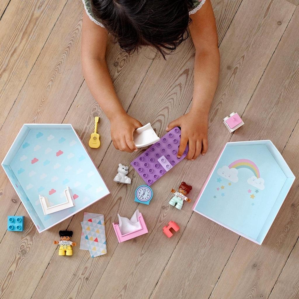 LEGO® Konstruktionsspielsteine »Kinderzimmer-Spielbox (10926), LEGO® DUPLO® Town«, (16 St.), Made in Europe