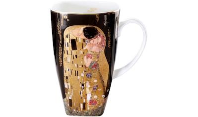 Goebel Becher »Der Kuss«, von Gustav Klimt, schwarz kaufen