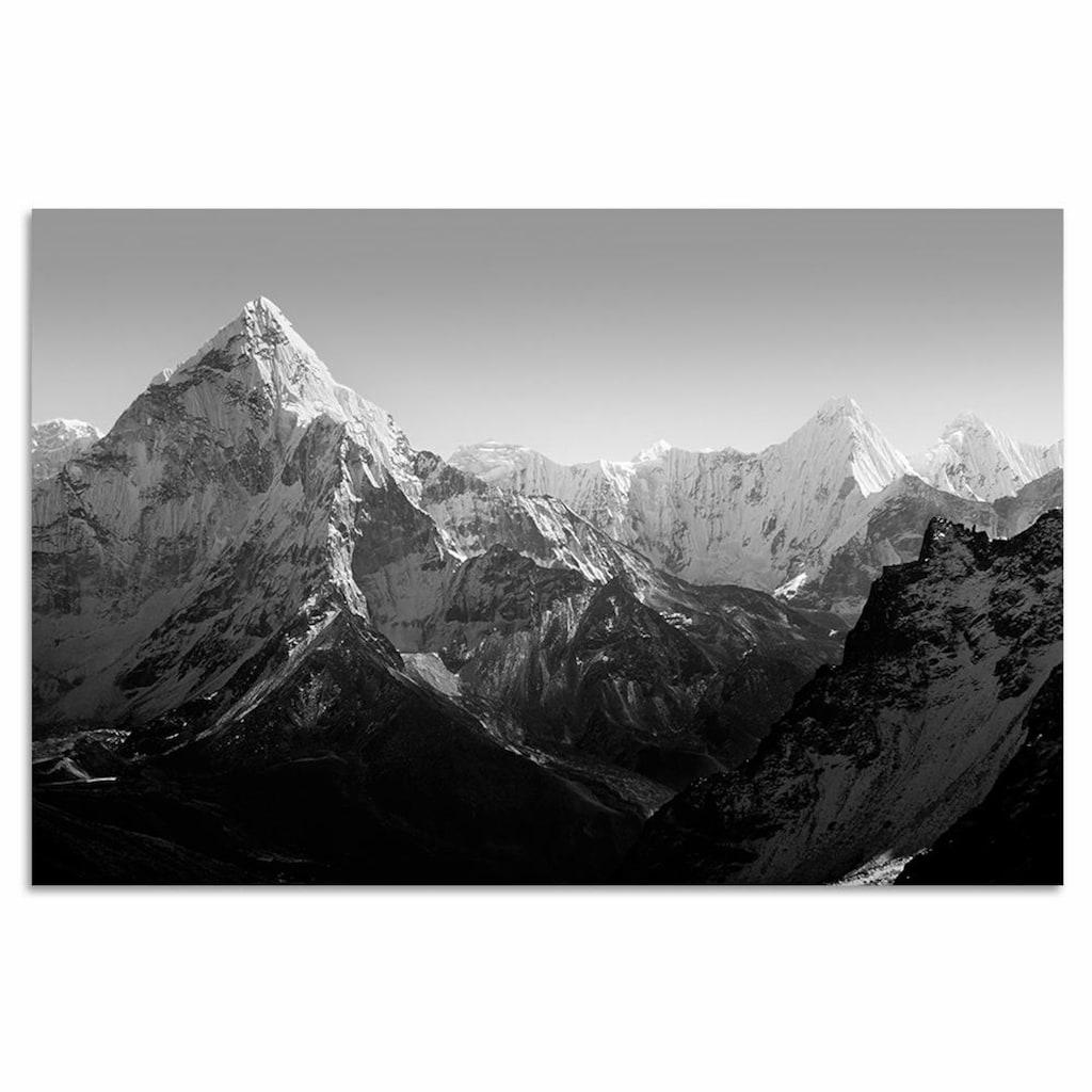 Home affaire Leinwandbild »Berge«, 120/80 cm