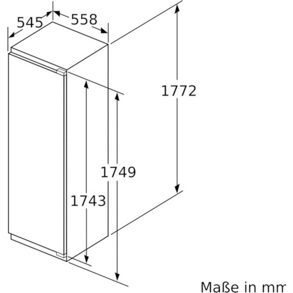 BOSCH Einbaukühlschrank »KIF81PFE0«, 8