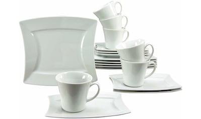 "CreaTable Kaffeeservice ""SAILING"" (18 - tlg.), Porzellan kaufen"