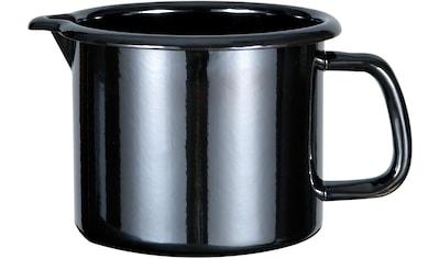 GSW Milchtopf »Profi-Black-Star«, Stahl-Emaille, (1 tlg.), 1,5 Liter kaufen