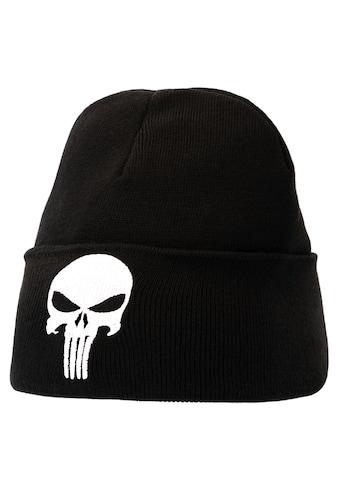LOGOSHIRT Wollmütze mit Punisher - Logo kaufen